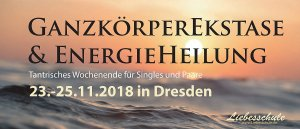 Erstmals in Dresden: GanzKörperEkstase im November 1